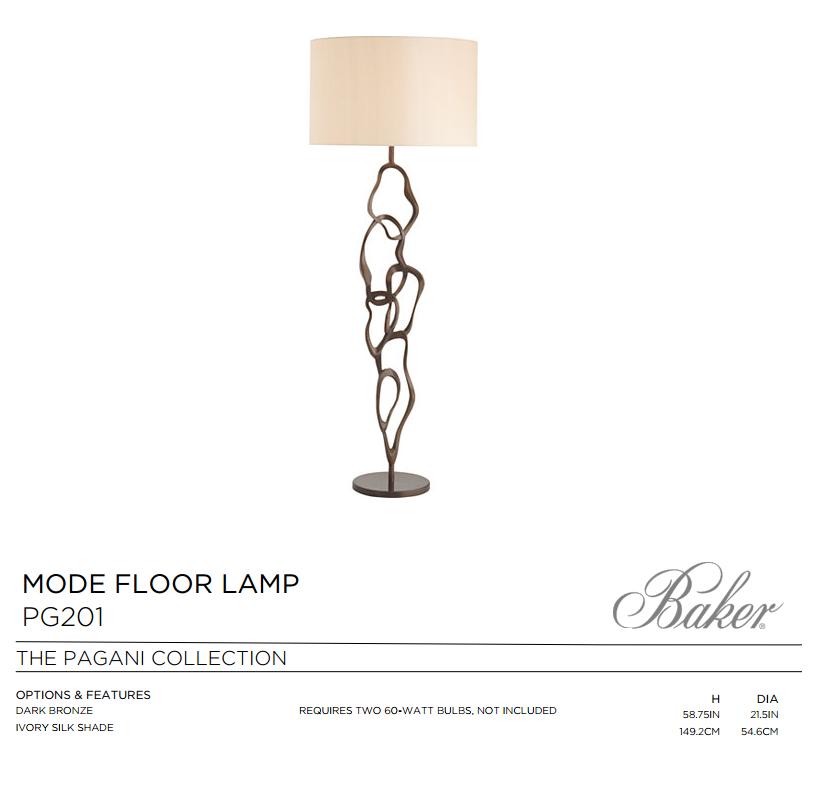 PG201 MODE FLOOR LAMP