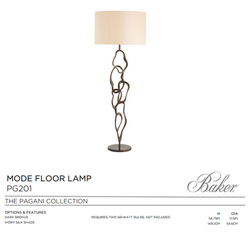 PG201 MODE FLOOR LAMP