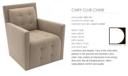 50551-001 CARY CLUB CHAIR