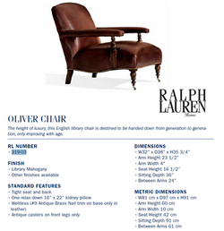 319-03  oliver chair