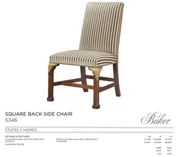 5346 SQUARE BACK SIDE CHAIR
