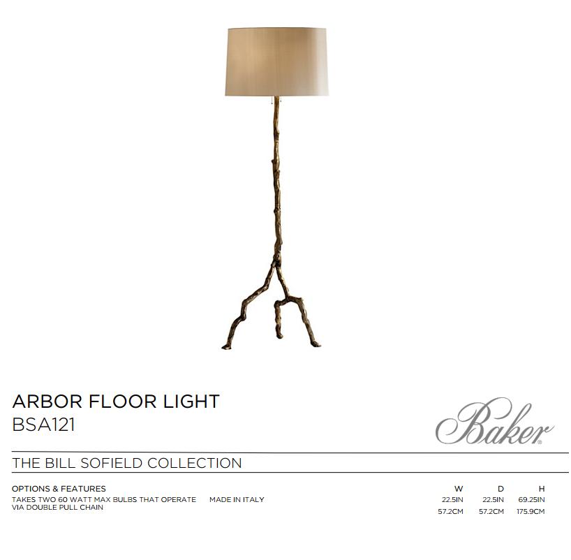BSA121 ARBOR FLOOR LIGHT