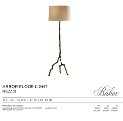 BSA121 ARBOR FLOOR LIGHT
