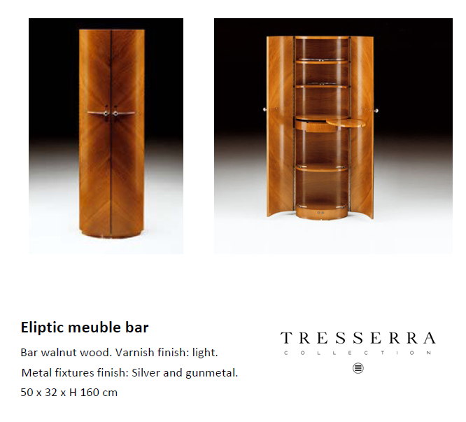 eliptic meuble bar