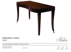 3487 DRESSING TABLE