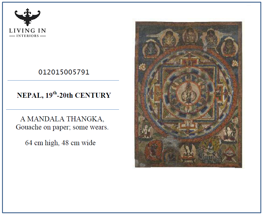 012015005791 NEPAL THANGKA