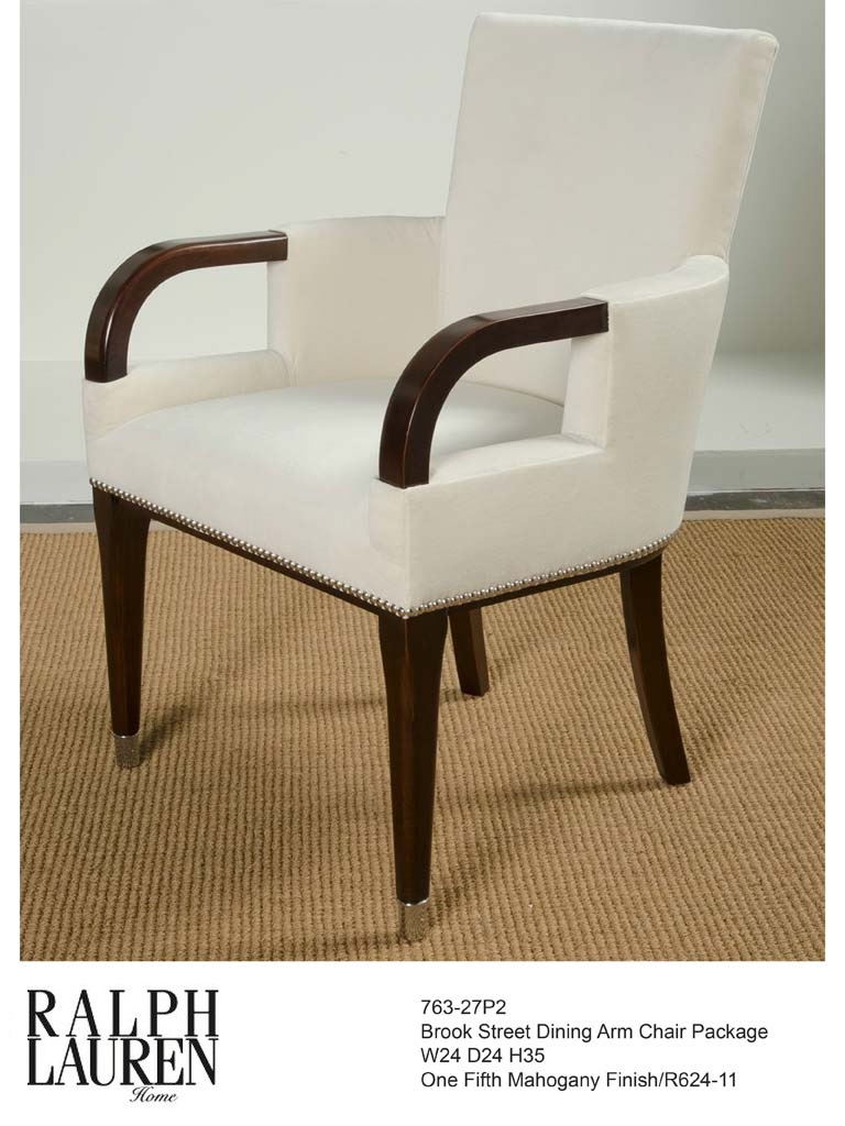 763-27P2 BROOK STREET DINING ARM CHAIR