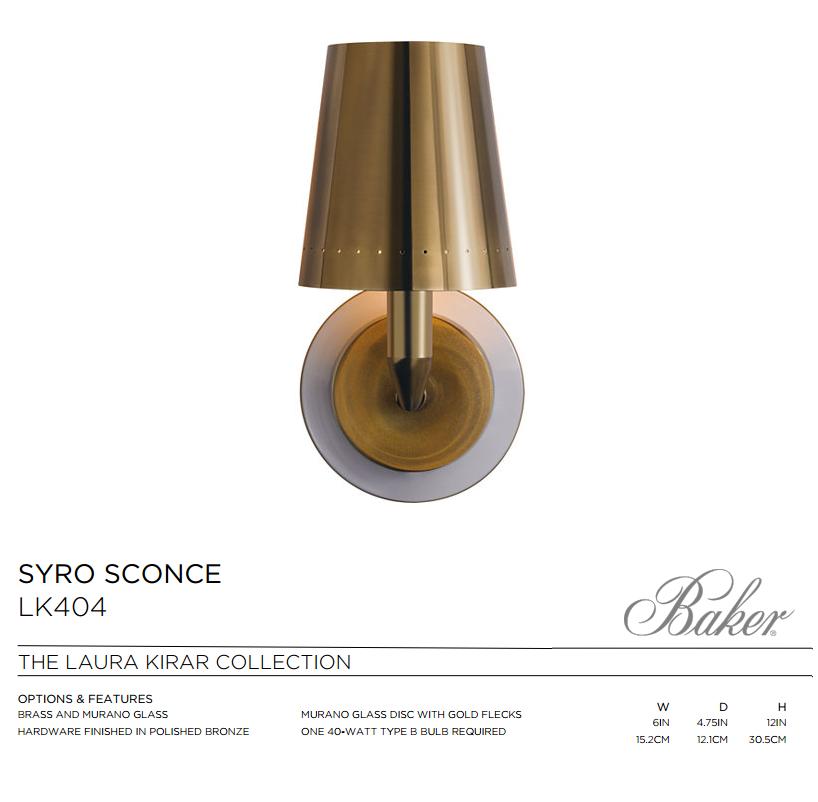 LK404 SYRO SCONCE