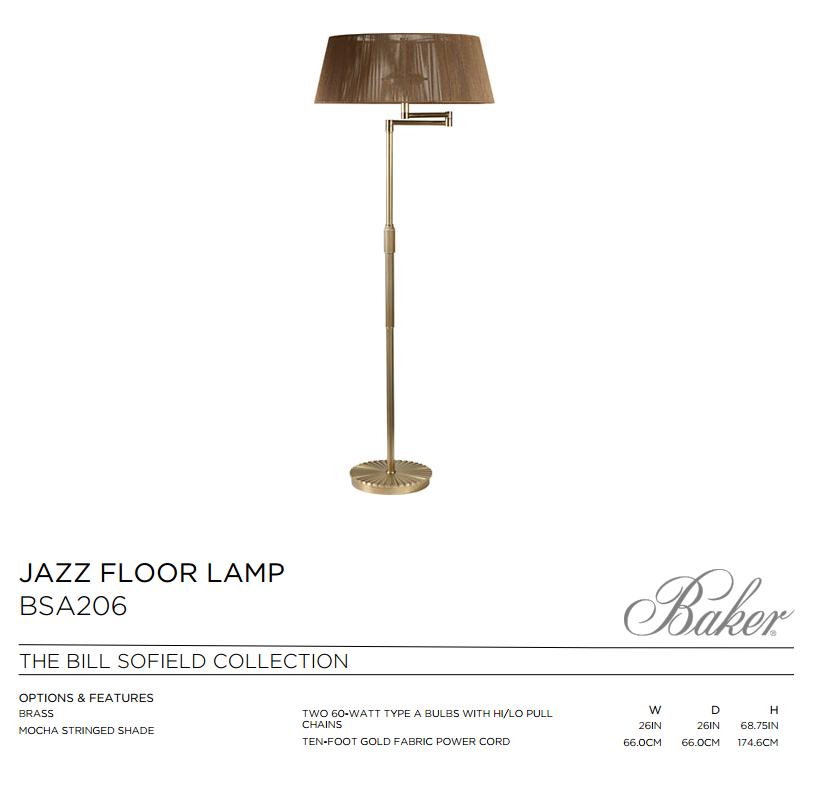BSA2016 JAZZ FLOOR LAMP