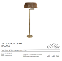 BSA2016 JAZZ FLOOR LAMP