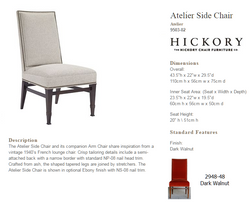 9503-02 Atelier Side Chair