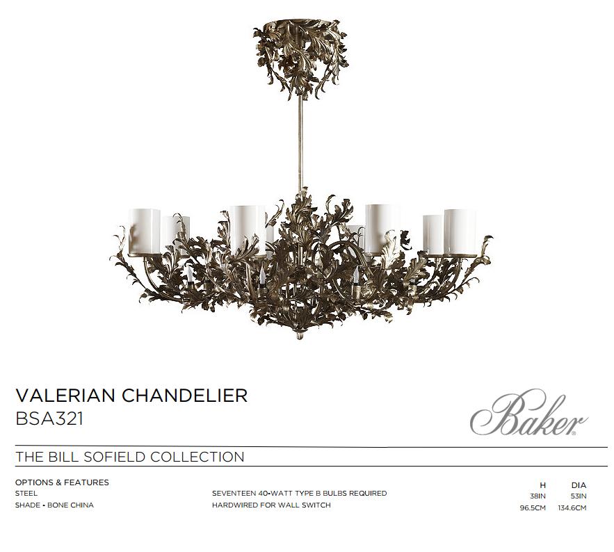 BSA321 VALERIAN CHANDELIER
