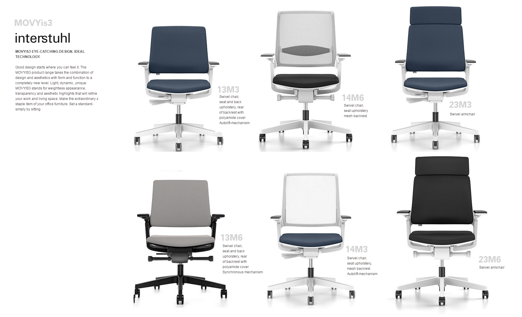 MOVYIS SWIVEL CHAIRS