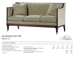 6829-72 GUINESS SETTEE