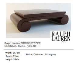 7600-40  BROOK STREET COCKTAIL TABLE