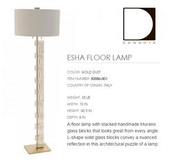 80086-001 ESHA FLOOR LAMP