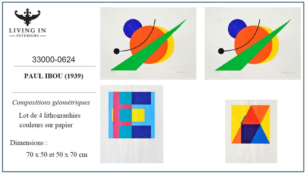 33000-0624_Ibou_Paul,_4_compositions_géométriques