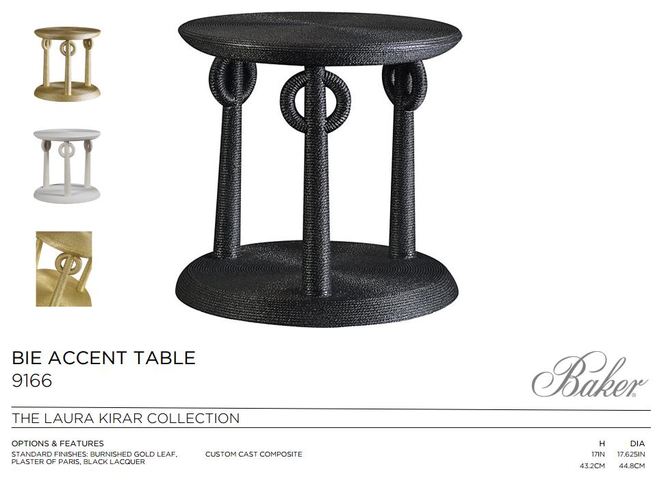 9166 BIE ACCENT TABLE