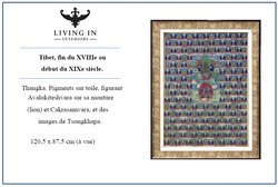 Thangka Tibet, fin du XVIIIe