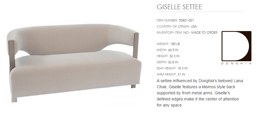50801-001 GISELLE SETTE