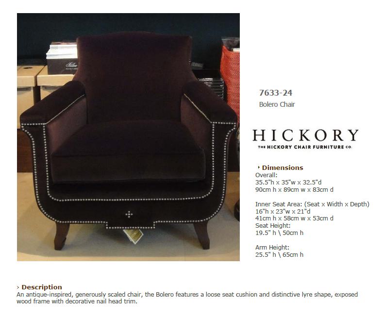 7633-24 Bolero Chair