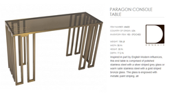 68400 PARAGON CONSOLE TABLE