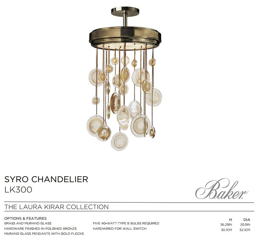 LK300 SYRO CHADELIER