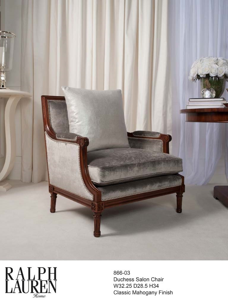 866-03 DUCHESS SALON CHAIR