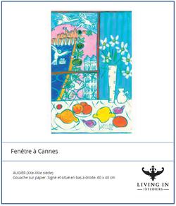 Fenetre a Cannes