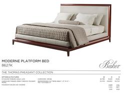8627K MODERNE PLATFORM BED