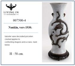 007500-4 Vase de forme balustre