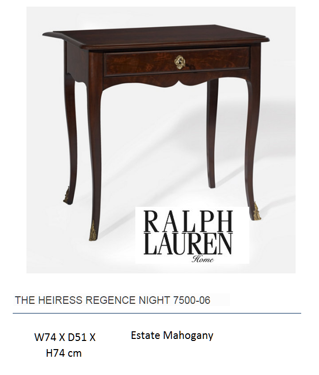 7500-06 THE HEIRESS REGENCE NIGHT TABLE