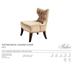 6371 TUFTED BACK LOUNGE CHAIR