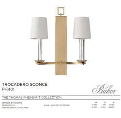 TROCADERP SCONCE