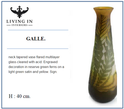 NECK TAPERED VASE GALE
