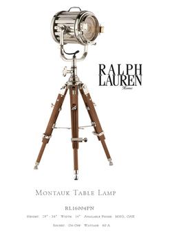 RL16004PN MONTAUK TABLE LAMP