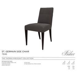 7846 ST GERMAIN SIDE CHAIR