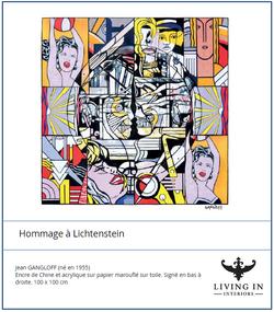Homage a Lichtenstein 02
