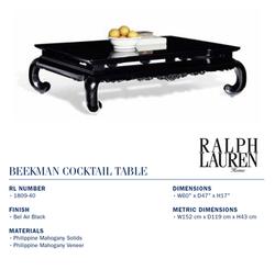 1809-40 beekman cocktail table