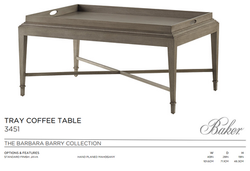 3451 TRAY COFFEE TABLE