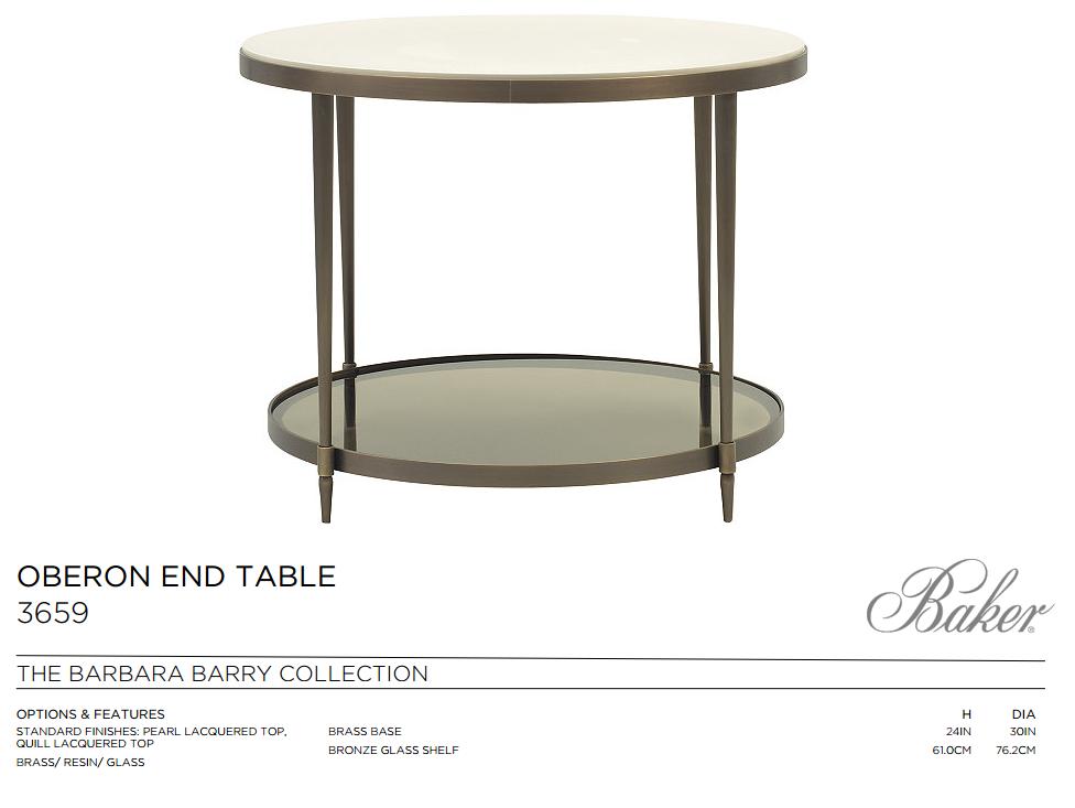 3659 OBERON END TABLE
