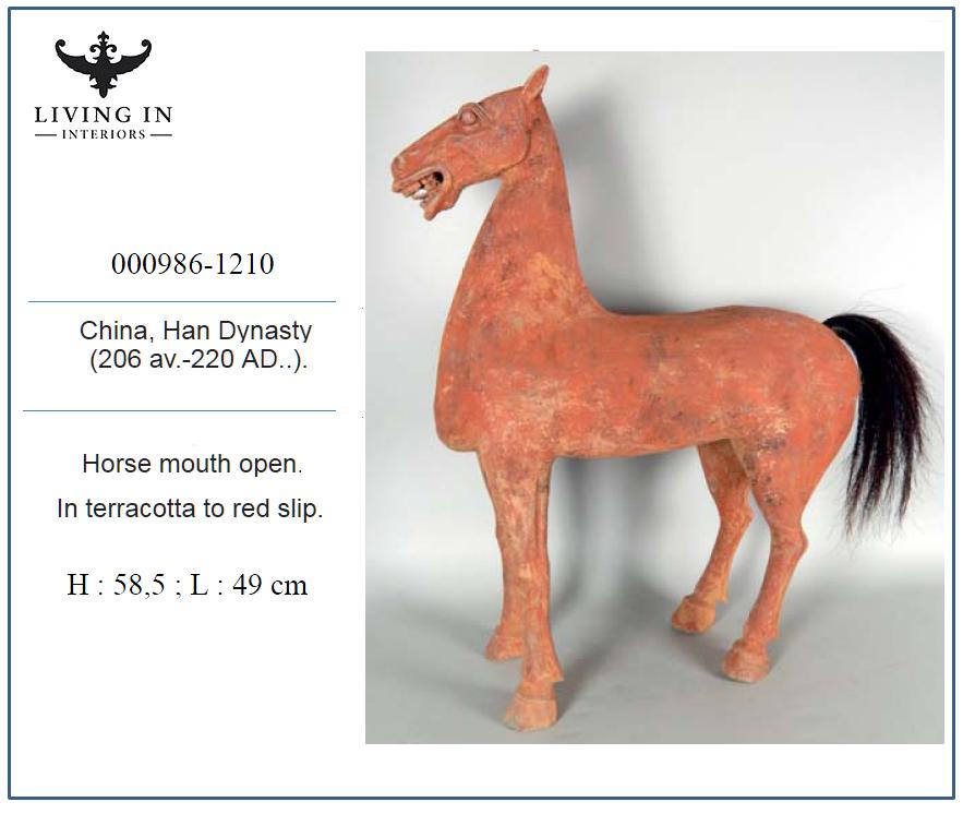 000986-1210 HAN DYN HORSE MOUTH OPEN