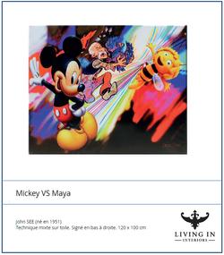 Mickey Vs Maya
