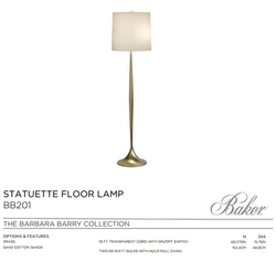 BB201 STATUTUETE FLOOR LAMP