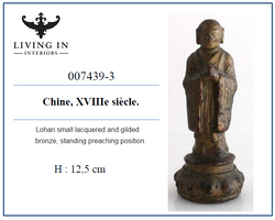 007439-3 18C Petit lohan en bronze