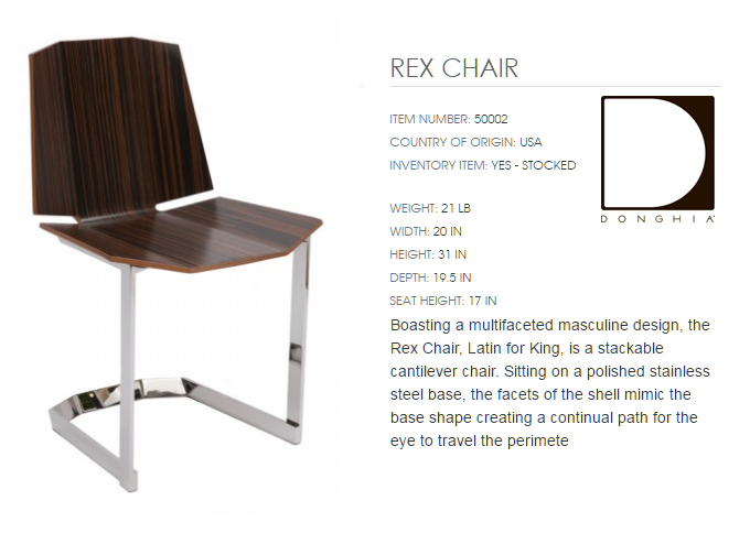 50002 REX CHAIR