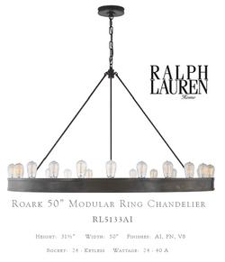 "RL_5133AI‐EU__ROARK_50""_MODULAR_RING_CHANDELIER"