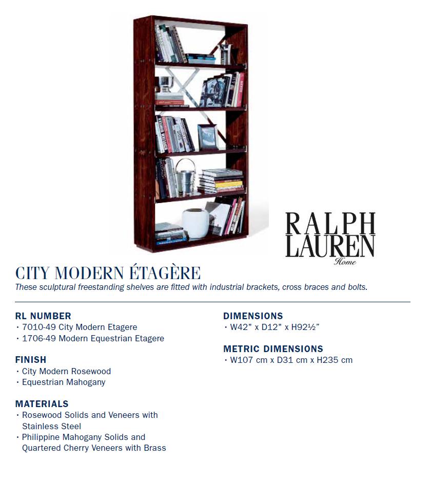 7010-49 City modern ÉTAGÈRE