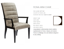 50777-001 FIONA ARM CHAIR