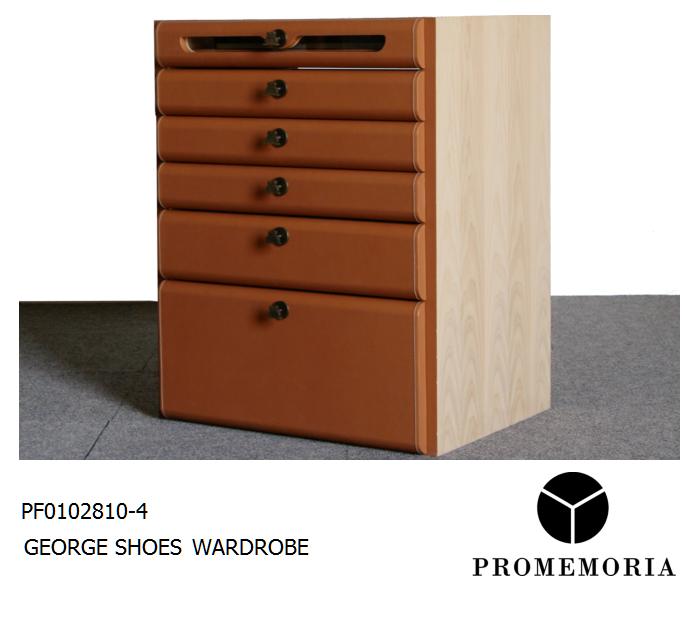 PF0102810-4 GEORGE SHOE WARDROBE